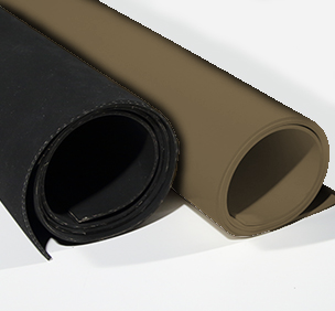 FKM Viton Brown and Black Rubber