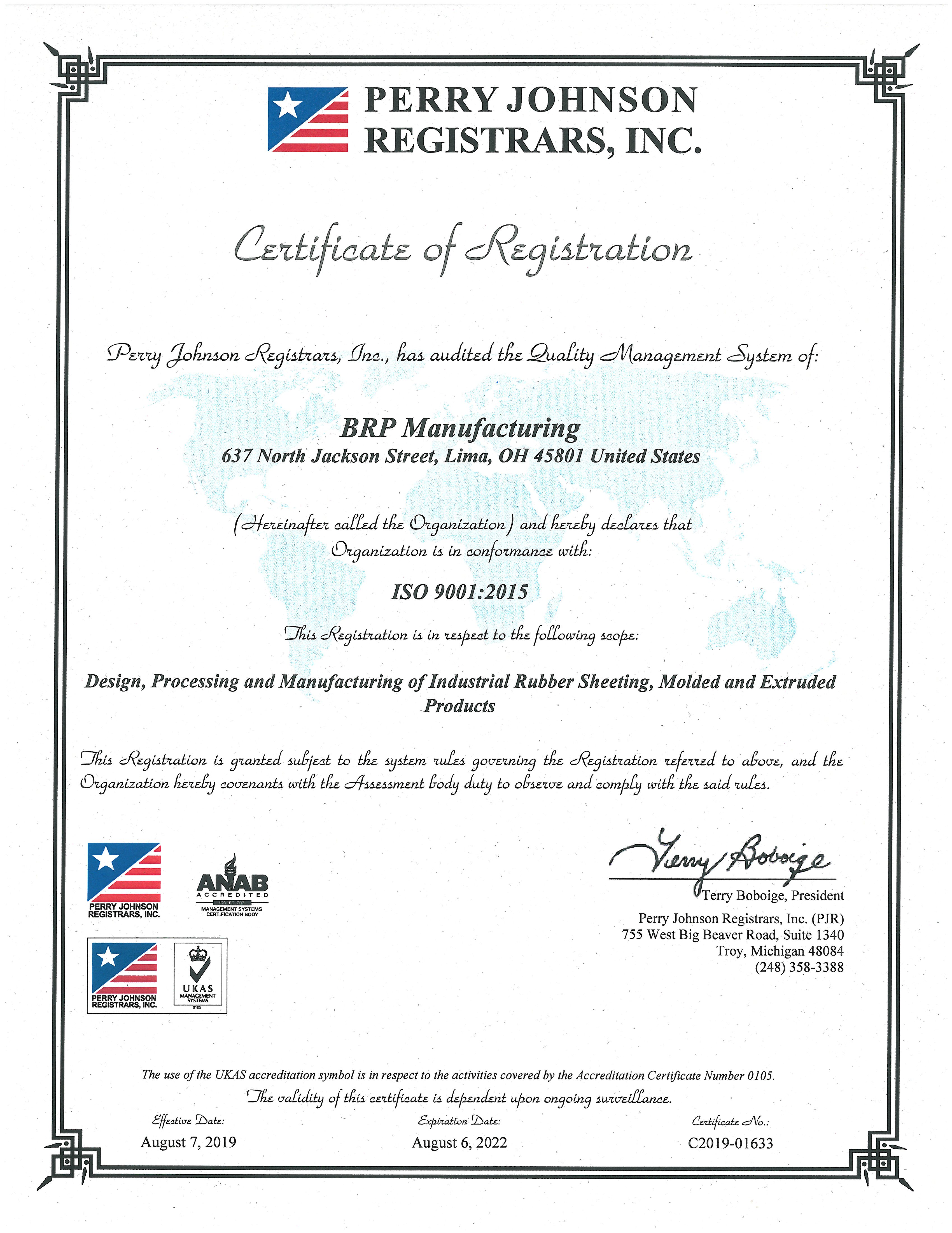 FDA Approved EPDM Rubber   BRP Manufacturing Company