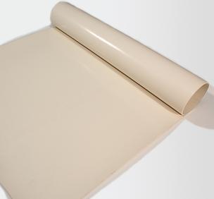 Screen Print White Vinyl Nitrile Rubber