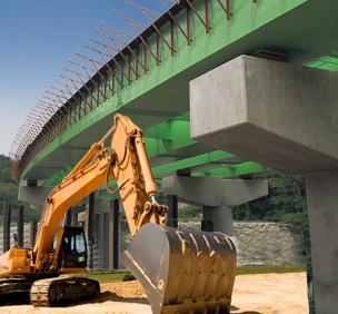 Construction Bridge Highway